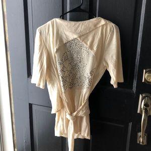 ❤️VanessaVirginia Cross Body créeme shirt (Size M)
